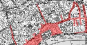 thatcher funeral road closure areas from 0730